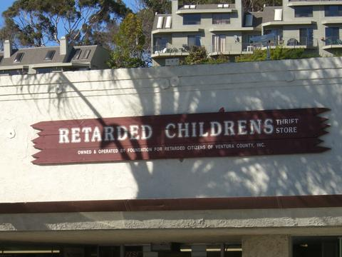 Retarded Childrens Thrift Store